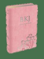 Bíblia King James Fiel 1611 (Luxo Rosa)