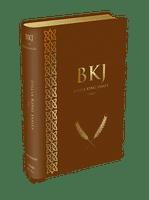 Bíblia King James Fiel 1611 (Luxo Marrom)