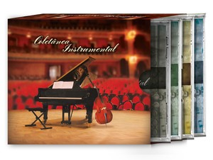 Kit Coletânea Instrumental com 4 CDs