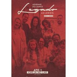 CD/DVD Legado 40 anos - Adhemar de Campos