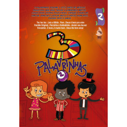 DVD 3 Palavrinhas - Vol. 2 - Três Palavrinhas