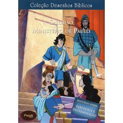 DVD Volume 13 - Salomão e Ministério de Paulo - Coleção Desenhos Bíblicos