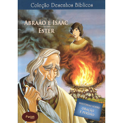 DVD Volume 4 - Abraão, Isaac e Ester - Coleção Desenhos Bíblicos