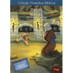 DVD Volume 6 - Daniel e Moisés, do nascimento ao chamado de Deus - Coleção Desenhos Bíblicos