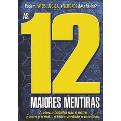 DVD As 12 Maiores Mentiras - Documentário