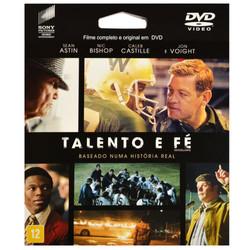DVD Talento e Fé - Filme epack