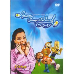 DVD Vamos compartilhar - Crianças Diante do Trono