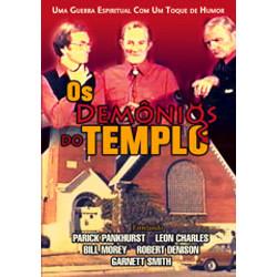 DVD Os demônios do templo - Filme