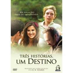 DVD Três histórias, um destino - Filme
