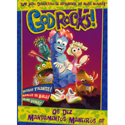 DVD Os Dez Mandamentos Maneiros - God Rocks!