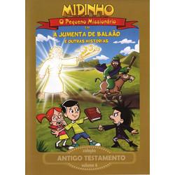 DVD Antigo Testamento - Vol. 6 - A Jumenta de Balaão - Midinho