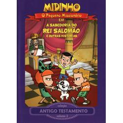 DVD Antigo Testamento - Vol. 3 - A Sabedoria do Rei Salomão - Midinho