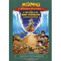 DVD Antigo Testamento - Vol. 5 - A Travessia do Mar Vermelho - Midinho