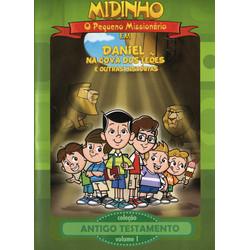 DVD Antigo Testamento - Vol. 1 - Daniel na Cova dos Leões - Midinho