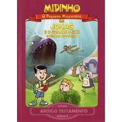 DVD Antigo Testamento - Vol. 4 - Jonas e o Grande Peixe - Midinho