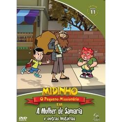 DVD Novo Testamento - Vol. 11 - A mulher de Samaria - Midinho