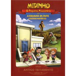 DVD Antigo Testamento - Vol. 10 - A Escolha de Rute - Midinho