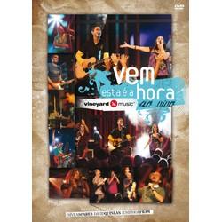 DVD Vem, esta é a hora - AO VIVO - Vineyard Brasil