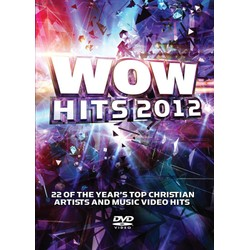 DVD WOW Hits 2012 - WOW - Coletânea