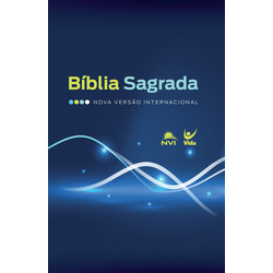 Bíblia Sagrada NVI (Brochura - Azul e Verde)