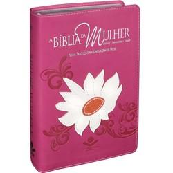 A Bíblia da Mulher (Rosa - Margarida Branca)