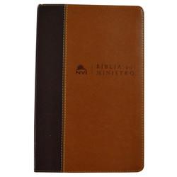Bíblia do Ministro (Marrom claro e marrom escuro)