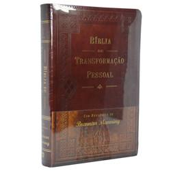 Bíblia de transformação pessoal (capa luxo marrom) - Brennan Manning