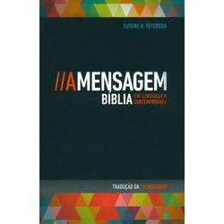 Bíblia A Mensagem - Capa Vintage