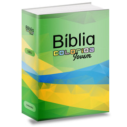 Bíblia Colorida Jovem (Verde e Amarela)