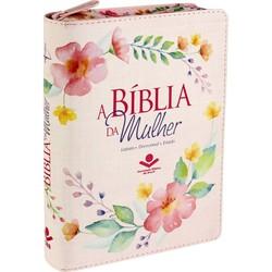 A Bíblia da Mulher - RC (Flores Delicadas)