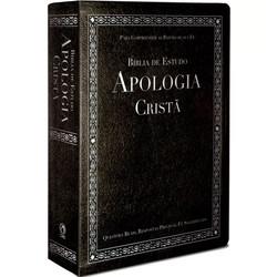Bíblia de Estudo Apologia Cristã (Luxo Preta)