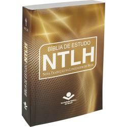 Bíblia de Estudo NTLH - Dourada (Brochura)