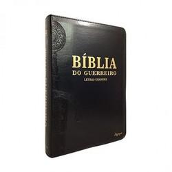 Bíblia Do Guerreiro - Letras grandes (Preta)
