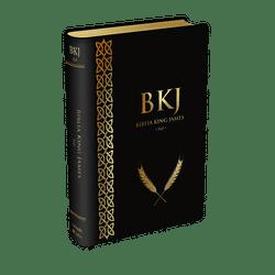 Bíblia King James Fiel 1611 (Luxo Preta)