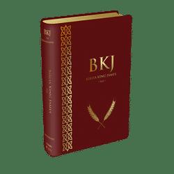 Bíblia King James Fiel 1611 (Luxo Vinho)