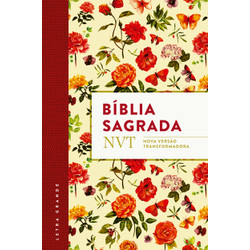 Bíblia NVT - Flores (letra grande/flexível)