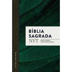 Bíblia NVT - Verde (letra grande/brochura c/ orelhas)