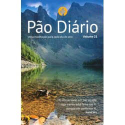 Pão Diário 2018 Vol. 21 - Capa - Paisagem