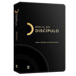 Bíblia do Discípulo - Capa Luxo Preta
