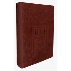 Bíblia King James Fiel 1611 (Letra Ultra Gigante - Marrom)