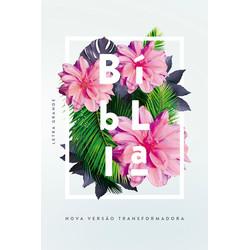Bíblia NVT - Flores tropicais (Letra Grande)