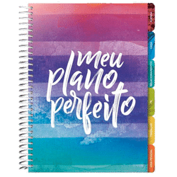 Agenda Meu Plano Perfeito (Capa Listras)