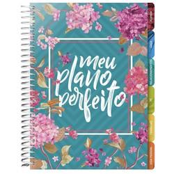 Agenda Meu Plano Perfeito (Capa Flores)