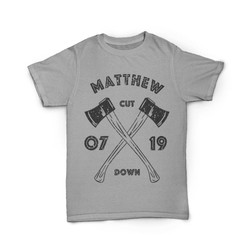 Camiseta Matthew 07:19 Cut Down