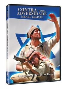 DVD Contra Toda Adversidade Israel Resiste - Documentário