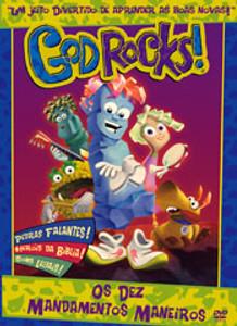 DVD God Rock - Os Dez Mandamentos Maneiros - God Rocks!