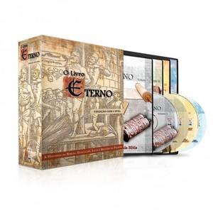 DVD Box - O Livro Eterno - 4 DVDs