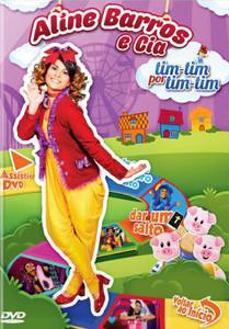 DVD Tim-tim por tim-tim - Aline Barros e Cia