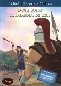 Volume 18 - Davi e Golias e As Parábolas de Jesus - Coleção Desenhos Bíblicos