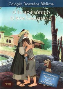 DVD Volume 11 - O filho pródigo e O bom samaritano - Coleção Desenhos Bíblicos